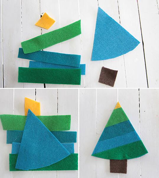 Новогодние поделки из фетра: что можно сделать своими руками как украшение елки и дома iz fetra ng 115