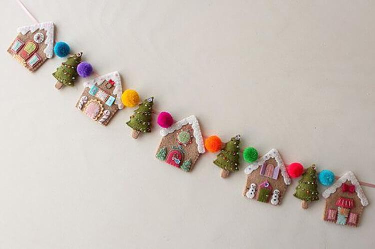 Новогодние поделки из фетра: что можно сделать своими руками как украшение елки и дома iz fetra ng 116