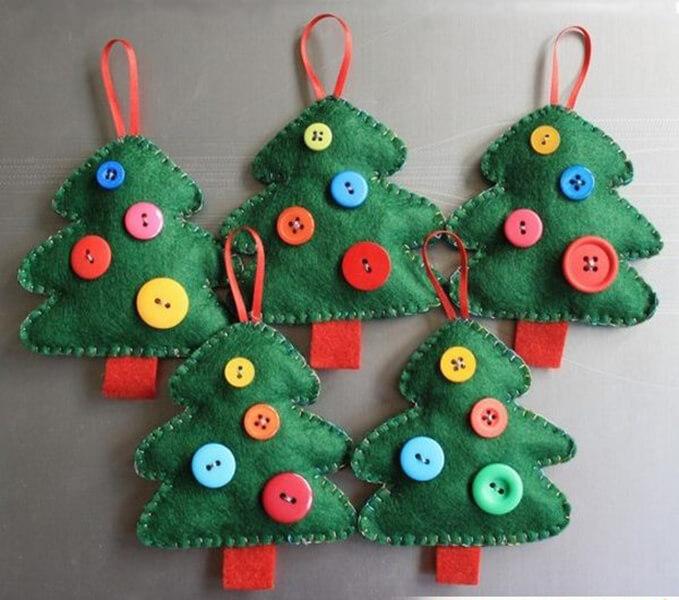 Новогодние поделки из фетра: что можно сделать своими руками как украшение елки и дома iz fetra ng 18