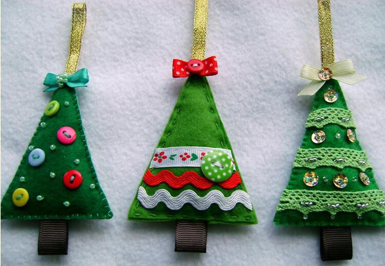 Новогодние поделки из фетра: что можно сделать своими руками как украшение елки и дома iz fetra ng 19