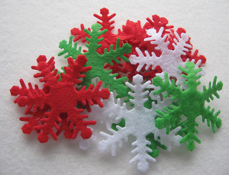 Поделки из фетра на Новый год: сделать своими руками елку, сапожок, звезду и другие игрушки
