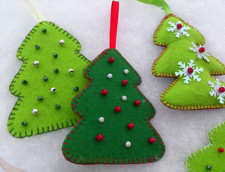 Новогодние поделки из фетра: что можно сделать своими руками как украшение елки и дома iz fetra ng 20