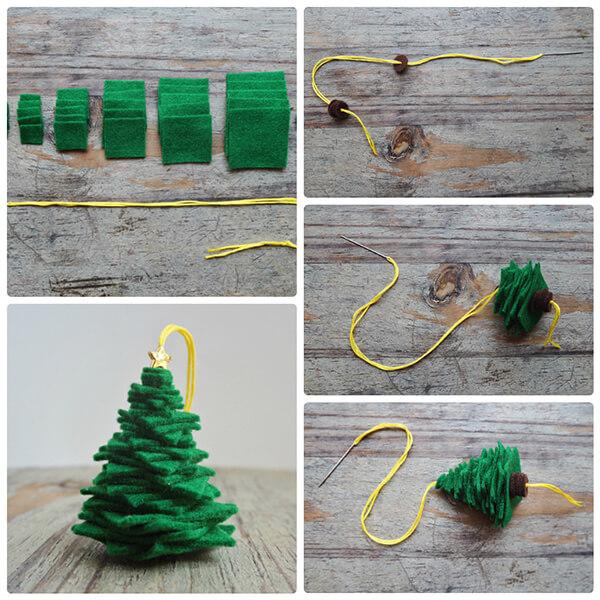 Новогодние поделки из фетра: что можно сделать своими руками как украшение елки и дома iz fetra ng 21