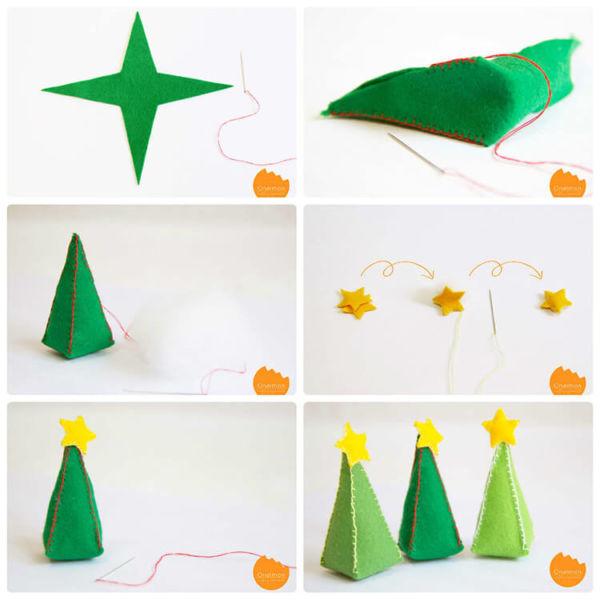 Новогодние поделки из фетра: что можно сделать своими руками как украшение елки и дома iz fetra ng 23