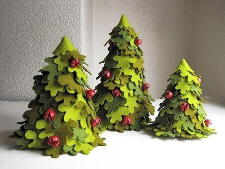 Новогодние поделки из фетра: что можно сделать своими руками как украшение елки и дома iz fetra ng 25