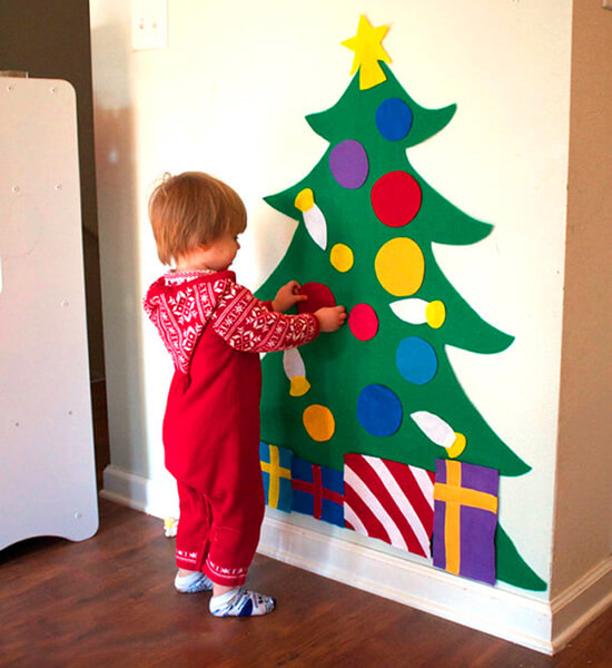 Новогодние поделки из фетра: что можно сделать своими руками как украшение елки и дома iz fetra ng 28