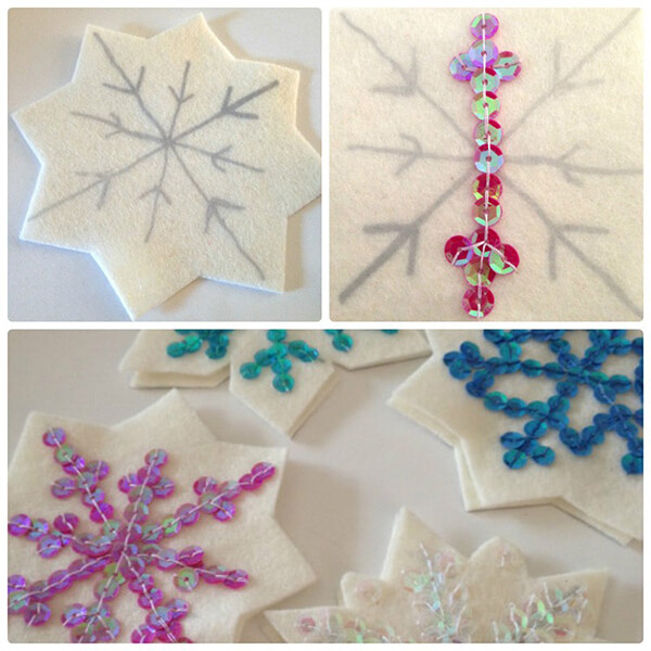 Новогодние поделки из фетра: что можно сделать своими руками как украшение елки и дома iz fetra ng 3