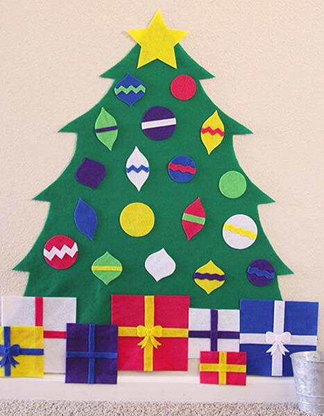Новогодние поделки из фетра: что можно сделать своими руками как украшение елки и дома iz fetra ng 30