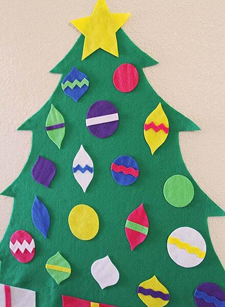Новогодние поделки из фетра: что можно сделать своими руками как украшение елки и дома iz fetra ng 31