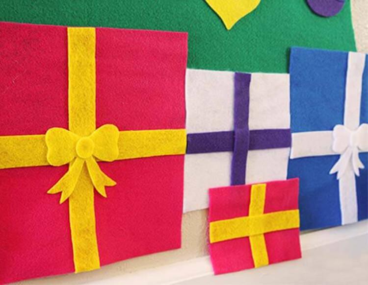 Новогодние поделки из фетра: что можно сделать своими руками как украшение елки и дома iz fetra ng 32