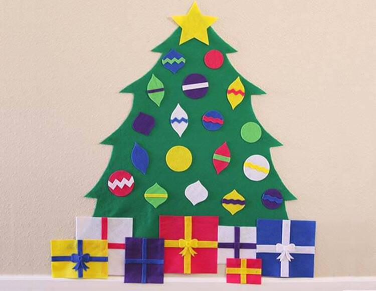 Новогодние поделки из фетра: что можно сделать своими руками как украшение елки и дома iz fetra ng 33