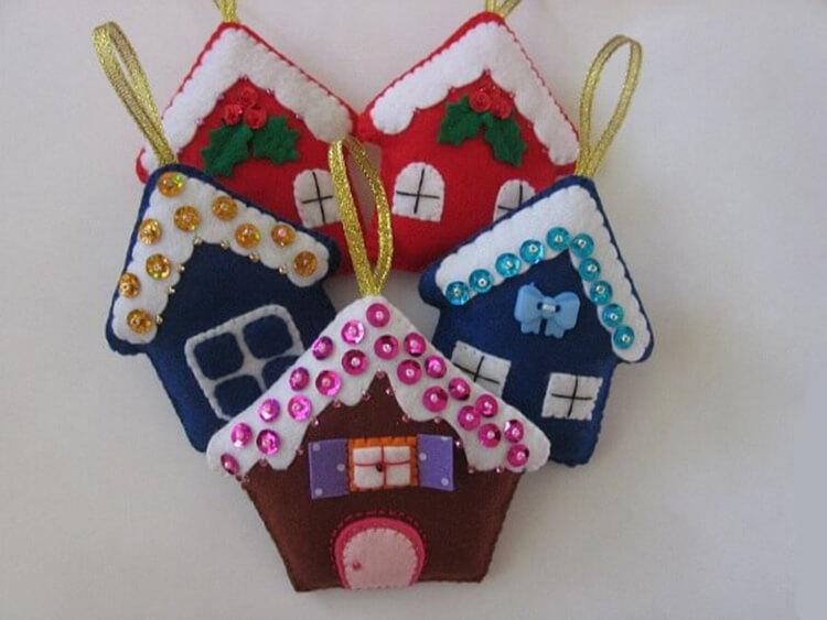 Новогодние поделки из фетра: что можно сделать своими руками как украшение елки и дома iz fetra ng 36