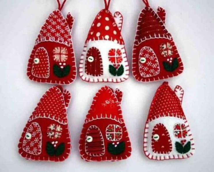 Новогодние поделки из фетра: что можно сделать своими руками как украшение елки и дома iz fetra ng 37
