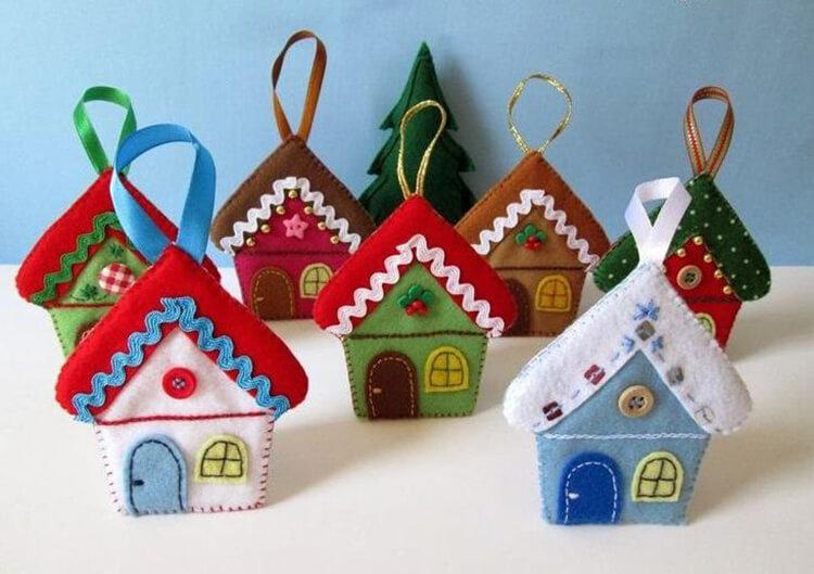 Новогодние поделки из фетра: что можно сделать своими руками как украшение елки и дома iz fetra ng 38