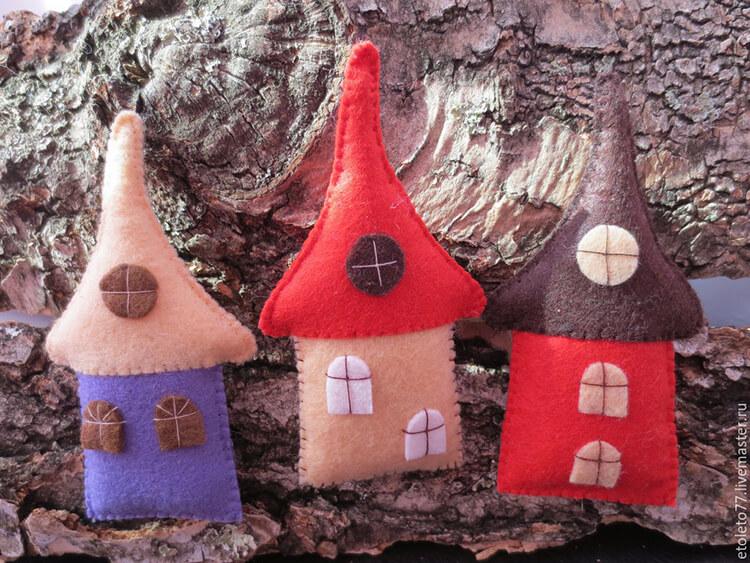 Новогодние поделки из фетра: что можно сделать своими руками как украшение елки и дома iz fetra ng 40