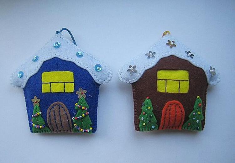 Новогодние поделки из фетра: что можно сделать своими руками как украшение елки и дома iz fetra ng 41
