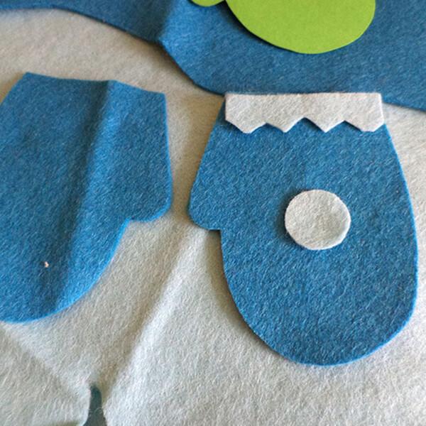 Новогодние поделки из фетра: что можно сделать своими руками как украшение елки и дома iz fetra ng 43