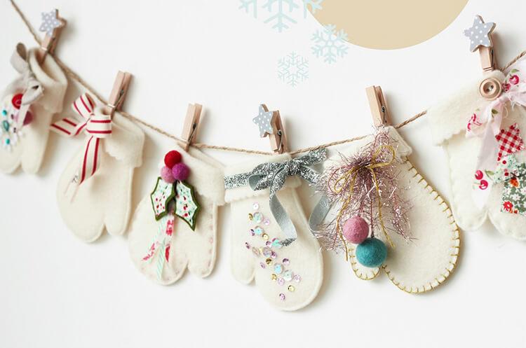 Новогодние поделки из фетра: что можно сделать своими руками как украшение елки и дома iz fetra ng 47