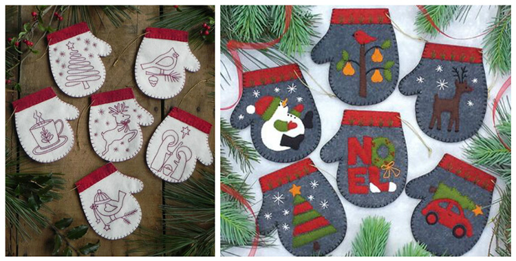 Новогодние поделки из фетра: что можно сделать своими руками как украшение елки и дома iz fetra ng 49