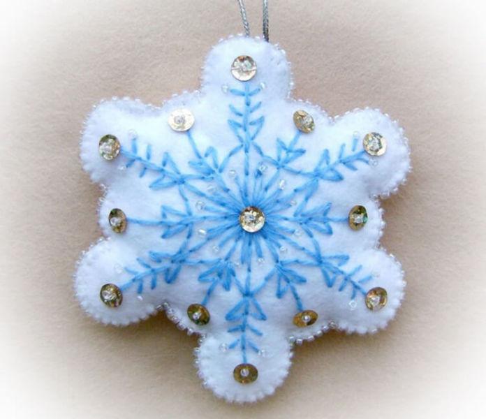 Новогодние поделки из фетра: что можно сделать своими руками как украшение елки и дома iz fetra ng 5