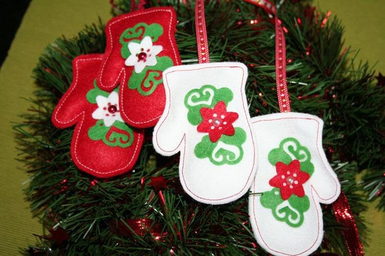 Новогодние поделки из фетра: что можно сделать своими руками как украшение елки и дома iz fetra ng 50