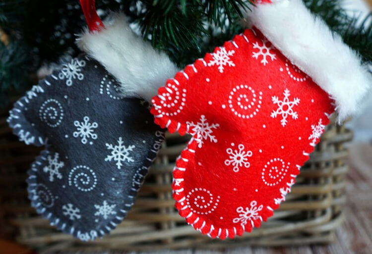 Новогодние поделки из фетра: что можно сделать своими руками как украшение елки и дома iz fetra ng 51