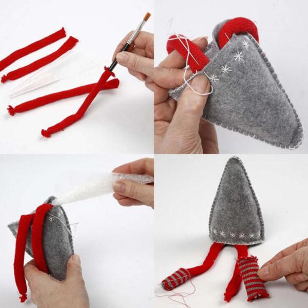 Новогодние поделки из фетра: что можно сделать своими руками как украшение елки и дома iz fetra ng 57