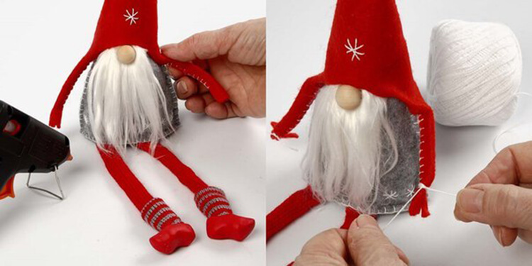 Новогодние поделки из фетра: что можно сделать своими руками как украшение елки и дома iz fetra ng 59