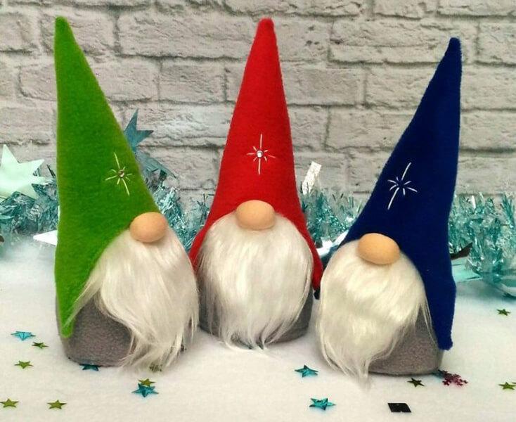 Новогодние поделки из фетра: что можно сделать своими руками как украшение елки и дома iz fetra ng 61