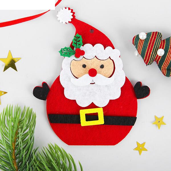 Новогодние поделки из фетра: что можно сделать своими руками как украшение елки и дома iz fetra ng 64