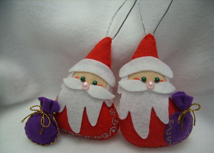 Новогодние поделки из фетра: что можно сделать своими руками как украшение елки и дома iz fetra ng 65