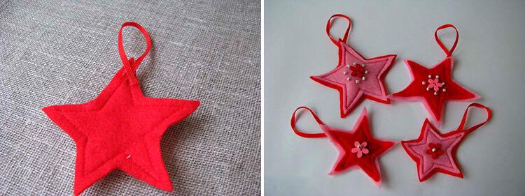 Новогодние поделки из фетра: что можно сделать своими руками как украшение елки и дома iz fetra ng 71 72