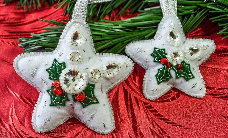 Новогодние поделки из фетра: что можно сделать своими руками как украшение елки и дома iz fetra ng 73