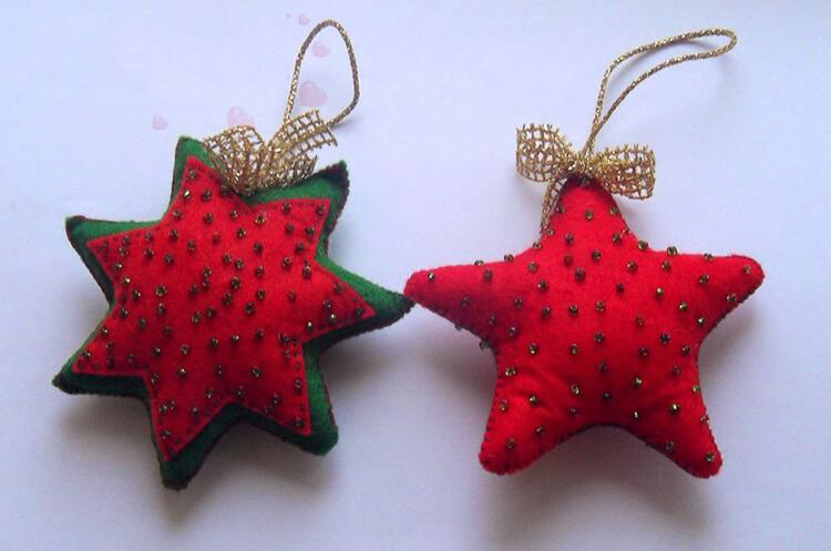 Новогодние поделки из фетра: что можно сделать своими руками как украшение елки и дома iz fetra ng 77