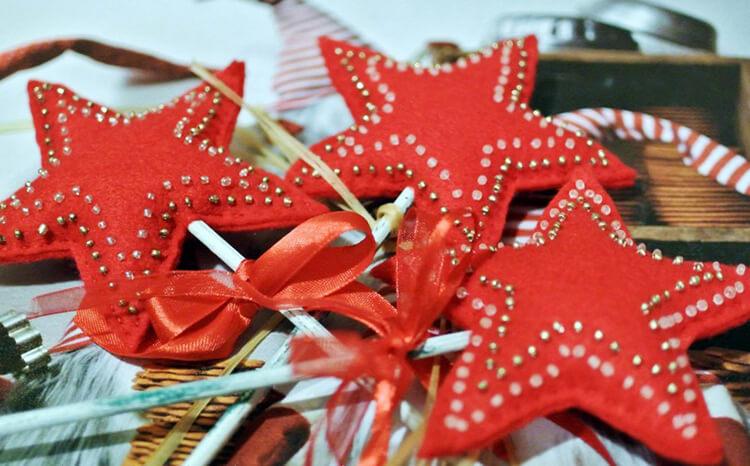 Новогодние поделки из фетра: что можно сделать своими руками как украшение елки и дома iz fetra ng 79
