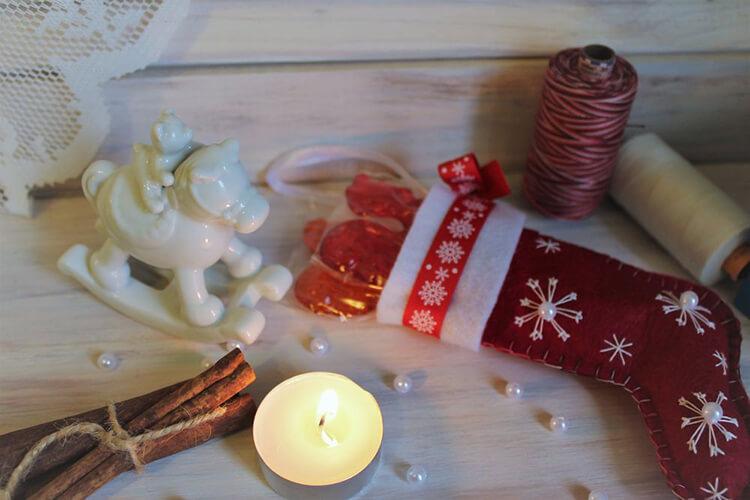 Новогодние поделки из фетра: что можно сделать своими руками как украшение елки и дома iz fetra ng 97