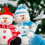 Делаем снеговика своими руками к новому году : различные способы  с фото