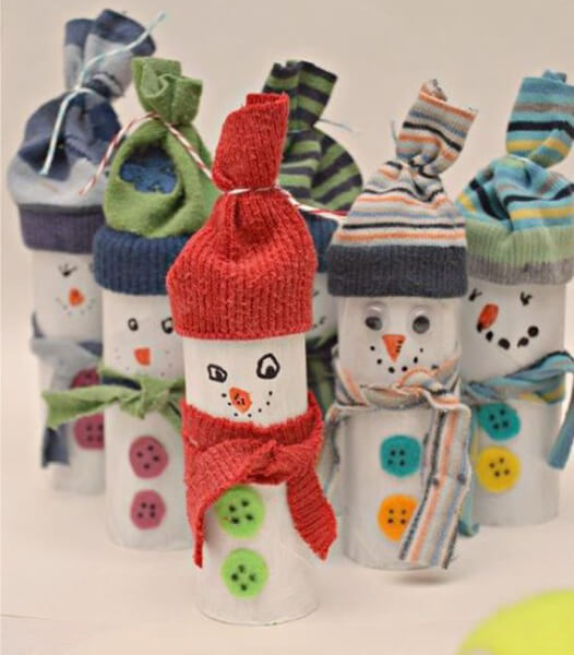 Делаем снеговика своими руками к новому году : различные способы  с фото podelka snegovik svoimi rukami 16