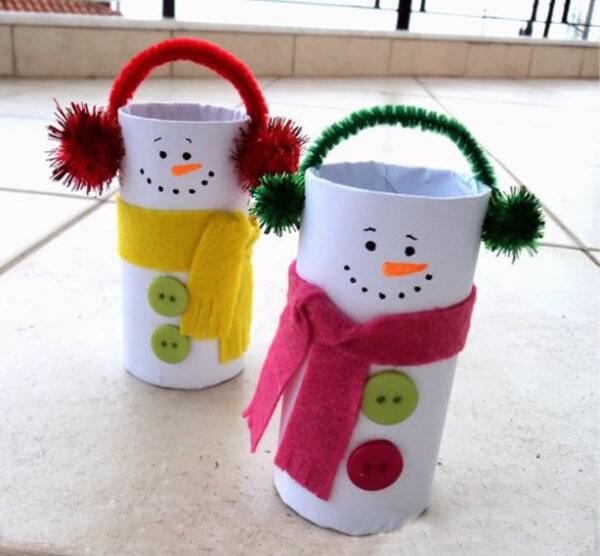 Делаем снеговика своими руками к новому году : различные способы  с фото podelka snegovik svoimi rukami 17