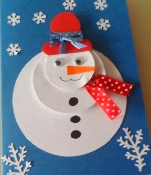Делаем снеговика своими руками к новому году : различные способы  с фото podelka snegovik svoimi rukami 18