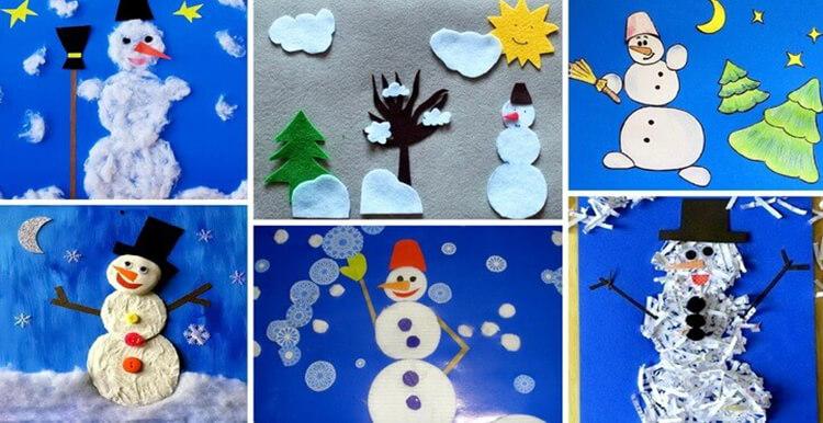 Делаем снеговика своими руками к новому году : различные способы  с фото podelka snegovik svoimi rukami 19