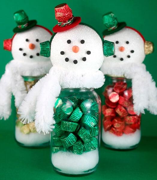 Делаем снеговика своими руками к новому году : различные способы  с фото podelka snegovik svoimi rukami 2