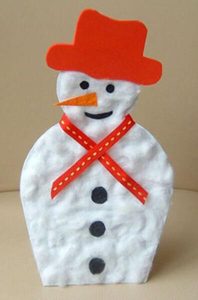 Делаем снеговика своими руками к новому году : различные способы  с фото podelka snegovik svoimi rukami 20