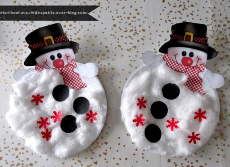 Делаем снеговика своими руками к новому году : различные способы  с фото podelka snegovik svoimi rukami 21