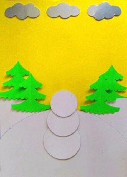 Делаем снеговика своими руками к новому году : различные способы  с фото podelka snegovik svoimi rukami 27
