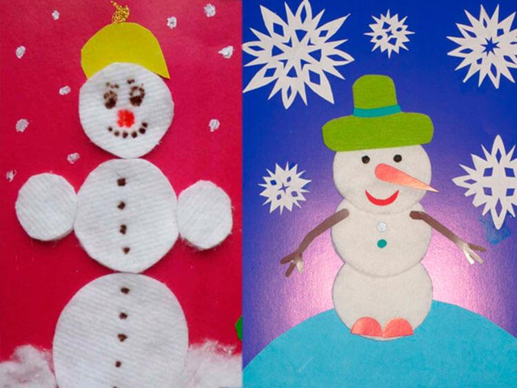 Делаем снеговика своими руками к новому году : различные способы  с фото podelka snegovik svoimi rukami 32