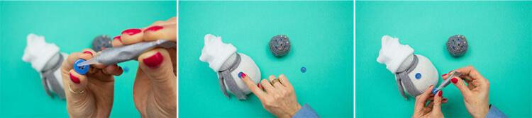 Делаем снеговика своими руками к новому году : различные способы  с фото podelka snegovik svoimi rukami 74