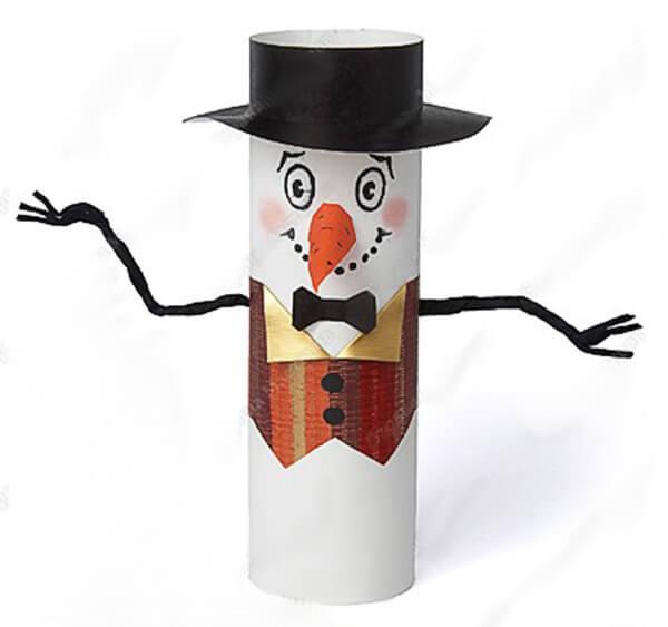 Делаем снеговика своими руками к новому году : различные способы  с фото podelka snegovik svoimi rukami 8