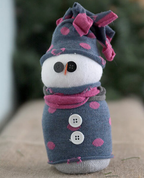 Делаем снеговика своими руками к новому году : различные способы  с фото podelka snegovik svoimi rukami 80