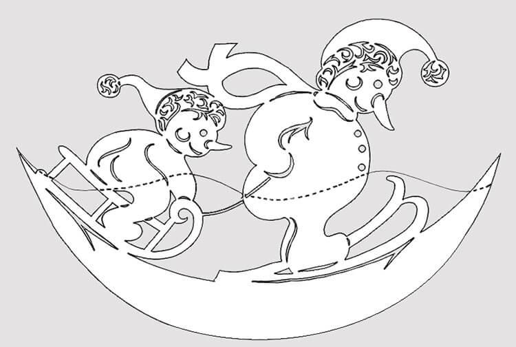 Делаем снеговика своими руками к новому году : различные способы  с фото podelka snegovik svoimi rukami 81